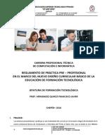 8. Reglamento de Practica Profesional Computacion