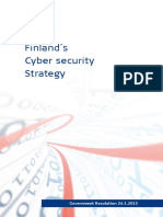 Finland s Cyber Security Strategy