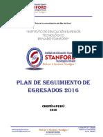 6. Plan de Seguimiento de Egresados 2016
