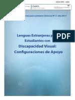 Cuadernillo para la enseñanza de Lenguas Extranjeras a estudiantes con discapacidad visual