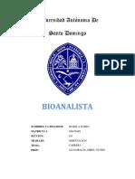 Bio Analist A