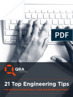Document Guide - 21-Tips to Clear Requirements Documentation