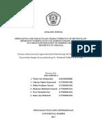 analisis jurnal mikrobiologi