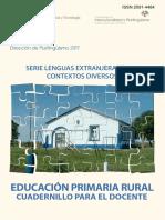 Cuadernillo de Educación Primaria Rural