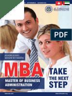 Brochure SBS MBA
