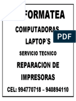 Se Formatea Computadoras