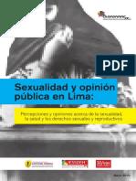 Sexualidad y Opinion Publica