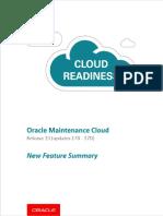 R13 Oracle SCM Maintenance (EAM) Cloud Features Summary