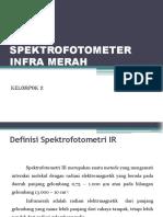Ppt Spektrofotometer Ir Kelompok 2