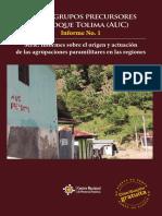 De los grupos precursores al Bloque Tolima