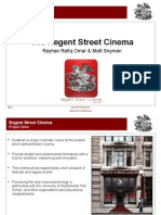 What is the Regent Street Cinema Project - 13 06 08v2