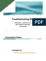 bgp troubleshoting