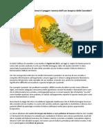 Conoscenza Della Esistenza Di Cannabis Ad Uso Medico