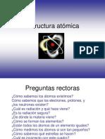 1.0 Estructura Atomica