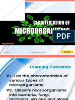 1 1classsificationofmicroorganisms 090707223839 Phpapp02