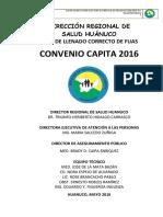 Proyecto Coquito Capita Modulo Consolidado Huanuco 2016