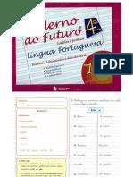 Caderno do Futuro 5° ano Língua Portuguesa