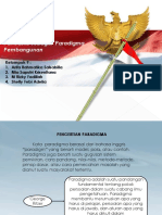 Presentation Pancasila sebagai Paradigma Pembangunan