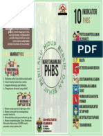 Contoh leaflet phbs