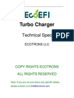 ECOTRONS Turbo VZ21 Technical Specl