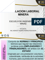 1.2. Legislacion Laboral Minera