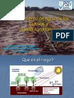 ETo Y Diseño Agronomico Huanuco