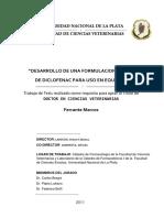 DESARROLLO DE UNA FORMULACION TOPICA DE DICLOFENACO PARA USO EN EQUINOS  .pdf