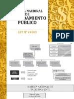 Sistema Nacional de Endeudamiento Público