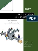 Proyecto Final Diseño Mecánico