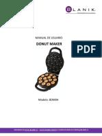 Manual Donut Maker Blanik