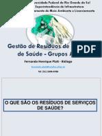 Aula Residuos Servico de Saude 2015.2