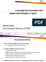 Innovation in Sports