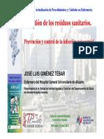 Jose Luis Gimenez Tebar Gest Residuos Sanitarios