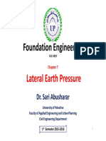 06 Chapter 7_Lateral Earth Pressure-m