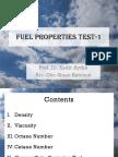 Fuel Properties 1