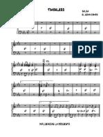 PIANO Timbalero- El Gran Combo