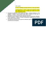Criterios Para La Evaluación de Las Reseñas