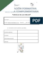 Evaluacion Formativa Lectura Arvejas en Las Orejas