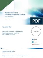 Mejores Prácticas de DataWarehouse Con SQL Server