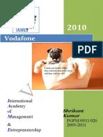 32323023 COMPANY PROFILE Vodafone Description and Report