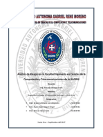 Análisis de Riesgos en La Facultad Ingeniería en Ciencias de La Computación y Telecomunicaciones de La UAGRM