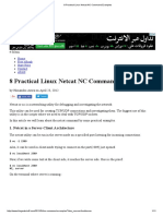 8 Practical Linux Netcat NC Command Examples
