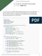 Asynchronous Client Socket Example _ Microsoft Docs