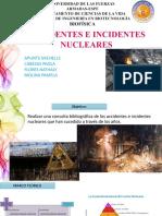 Accidentes e Incidentes Nucleares