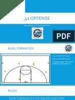 41 offense