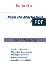 Plan de Marketin - En Blanco