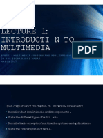 L1_Introduction to Multimedia