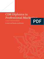 Level 6 Diploma in Professional Marketing Qualifications