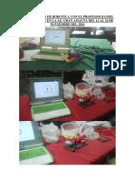 Capacitación de Robotica Con El Profesor Daniel Caldas Ponte en La i