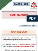 Bioelementos - Agua